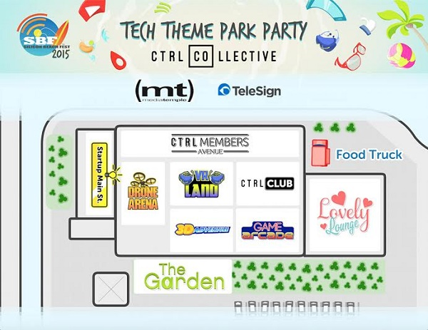 Tech Party Map