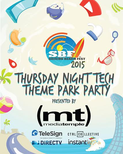 SBF Tech Theme Park Party presented by Media Temple @ CTRL Collective - Playa Vista | Los Angeles | California | United States