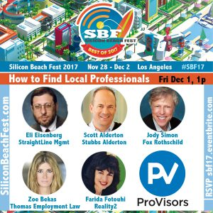 How to Find Local Professionals to Maximize Your Company's Value @ CTRL Collective Playa Vista - Main Stage